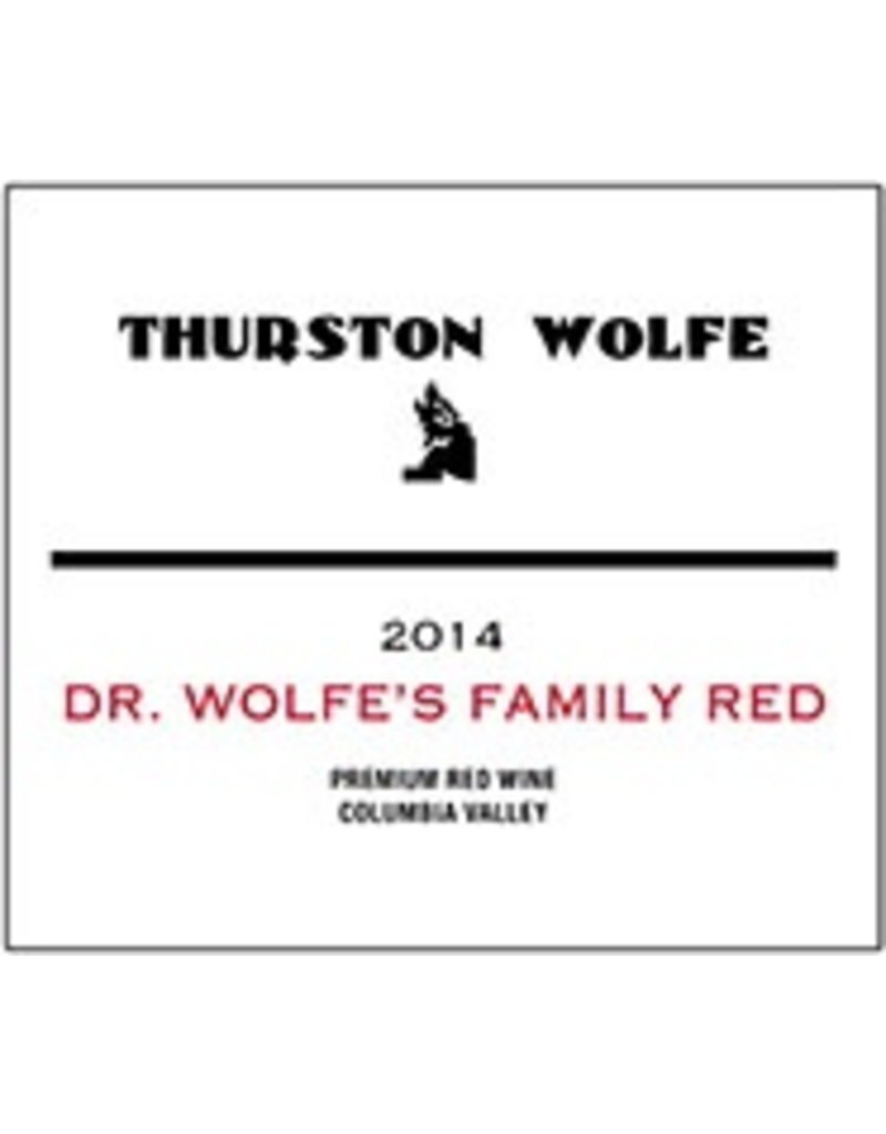 """American Wine Thurston Wolfe """"D.R. Wolfe's Family Red"""" Columbia Valley WA 2013 750ml"""