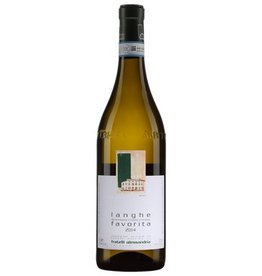 Italian Wine Fratelli Alessandria Langhe Favorita 2014 750ml