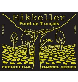 "Beer Mikkeller ""Foret du Troncais"" Light Toasted Barley Wine French Oak Barrel Series 375ml"