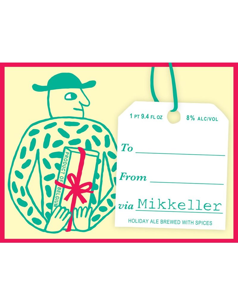 """Beer Mikkeller """"From To Via"""" Holiday Ale Brewed With Spices 750ml"""