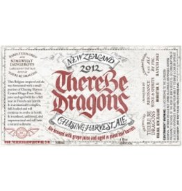 "Beer Chasing Harvest ""There Be Dragons"" 2013 New Zealand Ale 1 Pint 9oz"