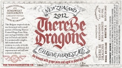 """Beer Chasing Harvest """"There Be Dragons"""" 2013 New Zealand Ale 1 Pint 9oz"""