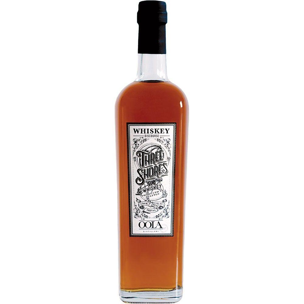 "Whiskey Oola ""Three Shores"" Whisky 750ml"