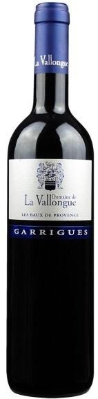 """French Wine Domaine de La Vallongue """"Garrigues"""" Les Baux de Provence 2014 750ml"""