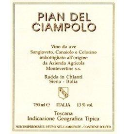 """Italian Wine Montevertine """"Pian del Ciampolo"""" Rosso di Toscana 2014 1.5L"""