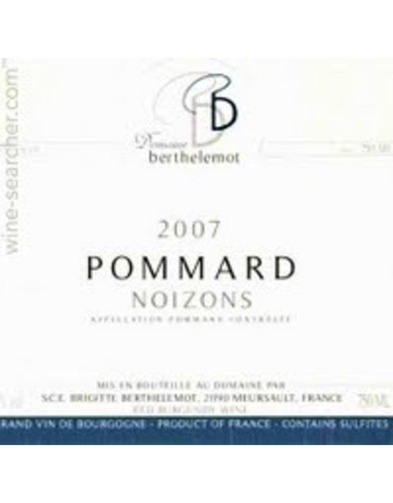 "French Wine Domaine Berthelemot Pommard ""Noizons"" 2014 1.5L"