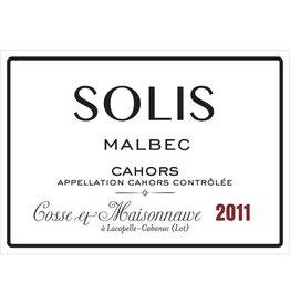 """French Wine Cosse et Maisonneuve """"Solis"""" Cahors 2011 750ml"""