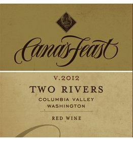 American Wine Cana's Feast Two Rivers Red Wine 2012 750ml