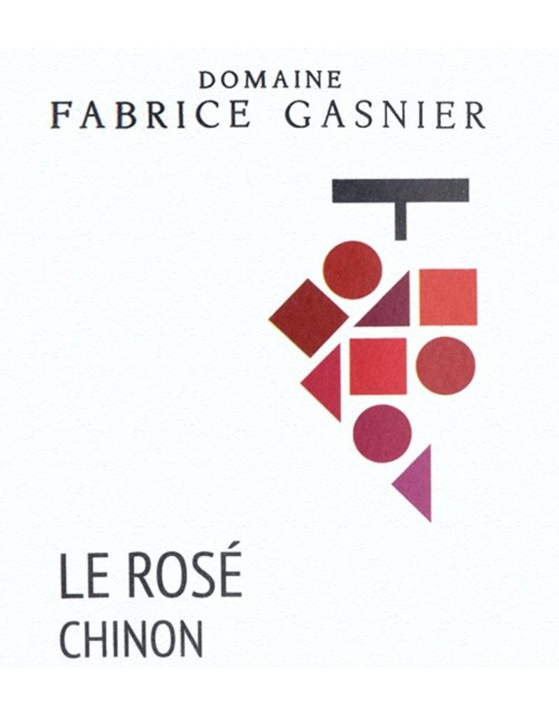 "French Wine Fabrice Gasnier Chinon ""Le Rosé"" 2016 750ml"