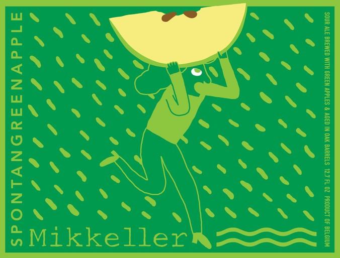 Beer Mikkeller Spontangreenapple 375ml