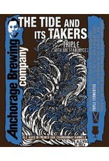 """Beer Anchorage Brewing Company """"Tide and Its Takers"""" Triple 750ml"""