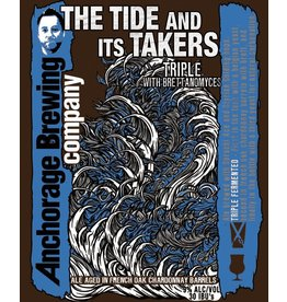 "Beer Anchorage Brewing Company ""Tide and Its Takers"" Triple 750ml"