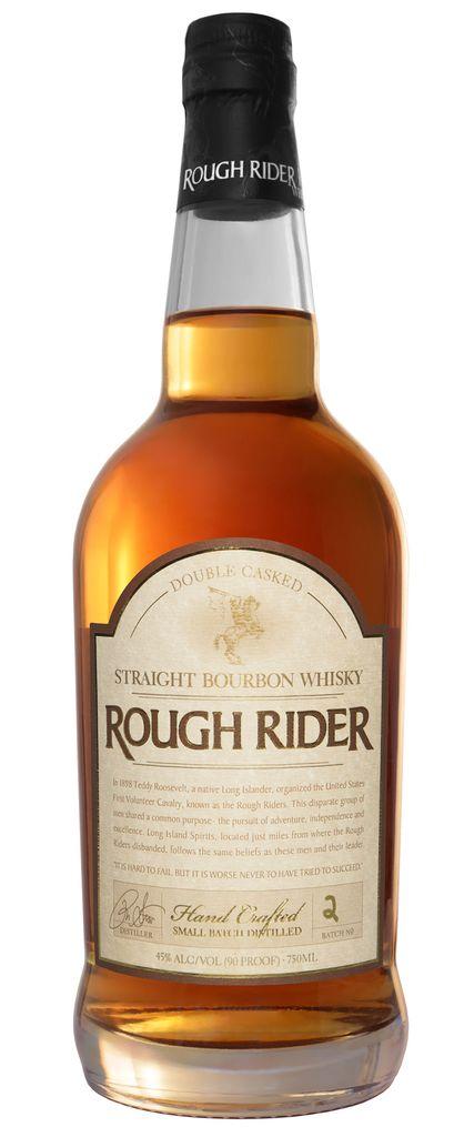 Bourbon Rough Rider Double Casked Striaght Bourbon Whiskey 750ml