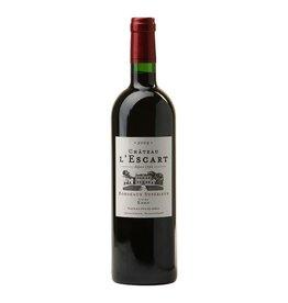 """French Wine Chateau L'Escart Bordeaux Superieur """"Cuvée Eden"""" 2009 1.5 Liter"""