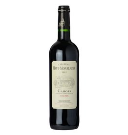 French Wine Chateau Haut-Monplaisir Cahors Malbec 2014 750ml