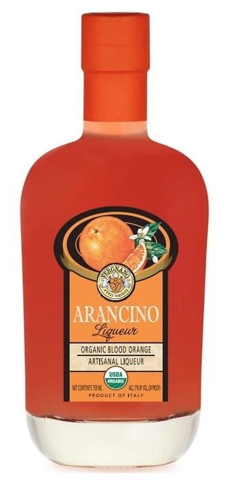 Liqueur Vergnano Arancino Blood Orange Artisanal Liqueur 750ml