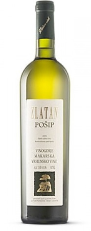 Eastern Euro Wine Zlatan Posip Vrhunsko Vino Croatia 2014 750ml