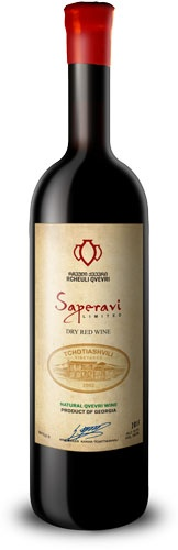 "Eastern Euro Wine Tchotiashvili ""Saperavi"" Dry Red Wine Kvkheti Region Georgia 2015 750ml"
