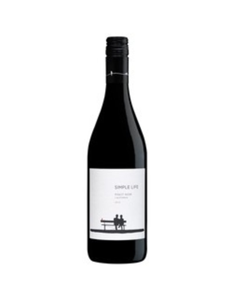 American Wine Simple Life Winery Pinot Noir California 2015 750ml