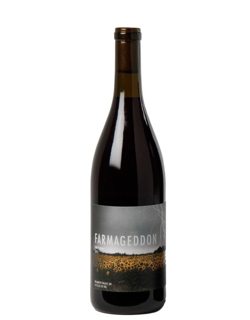 """American Wine Route 101 Wines """"Farmageddon"""" Pinot Noir Willamette Valley 2015 750ml"""