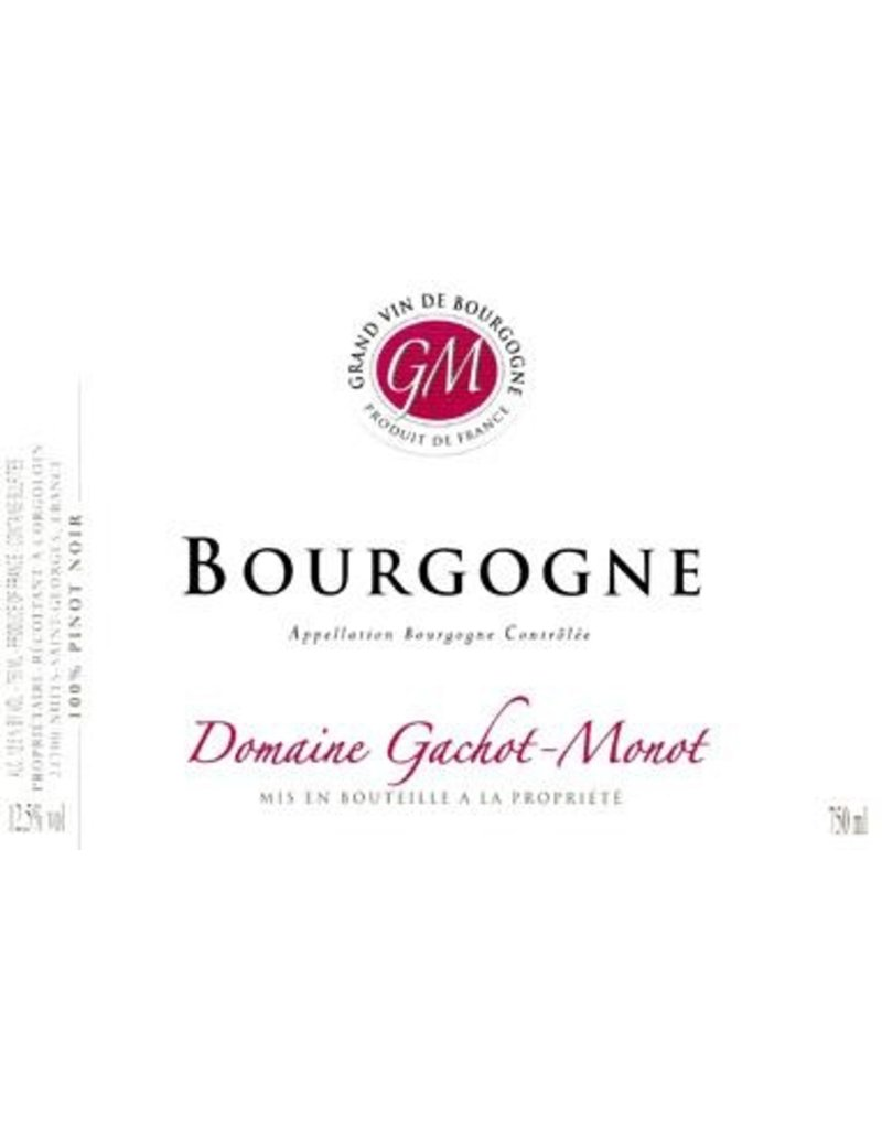 "French Wine Domaine Gachot-Monot Bourgogne Rouge ""Chant de Muses"" 2013 750ml"