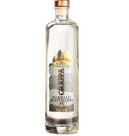 "Brandy Barberino ""Alma Toscana"" Grappa Brunello Montalcino 750ml"