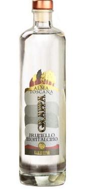 """Brandy Barberino """"Alma Toscana"""" Grappa Brunello Montalcino 750ml"""