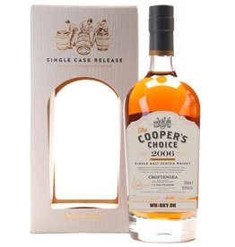 Scotch Cooper's Choice Croftengea (Loch Lomond Distillery) 2006 Heavily Peated 750ml