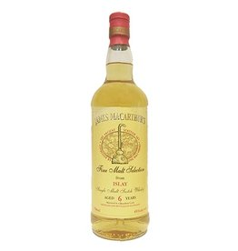 Scotch James MacArthur's Islay 6 Year Single Malt Scotch Whisky 750ml