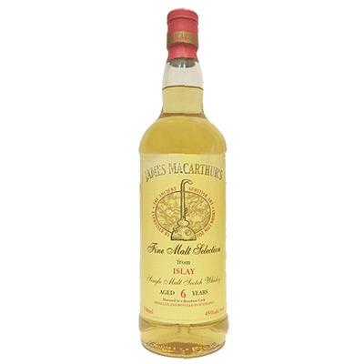 Scotch James MacArthur's Islay 6 Year Single Malt Scotch Whisky 750ml