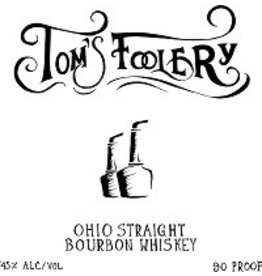 Bourbon Tom's Foolery Ohio Straight Bourbon Whiskey 90 proof 750ml