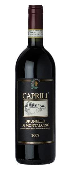 Italian Wine Caprili Brunello di Montalcino 2012 750ml