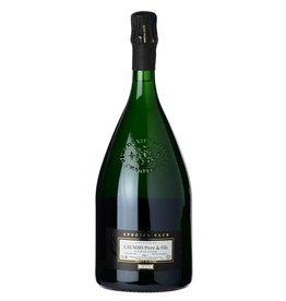"""Sparkling Wine Launois Pére & Fils """"Special Club"""" Blanc de Blanc Brut Champagne 2005 1.5L"""