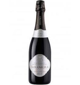 Sparkling Wine Saxanigra Vino Supmante Brut Millesimato Brut 100% Nerello Mascalese  2011 750ml