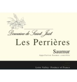 "French Wine Domaine de Saint Just ""Les Perrieres"" Saumur Blanc 750ml"