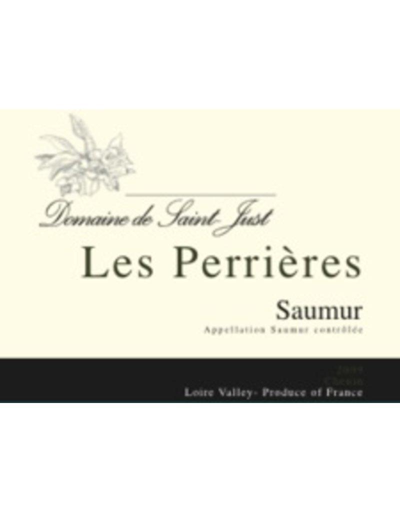 """French Wine Domaine de Saint Just """"Les Perrieres"""" Saumur Blanc 750ml"""