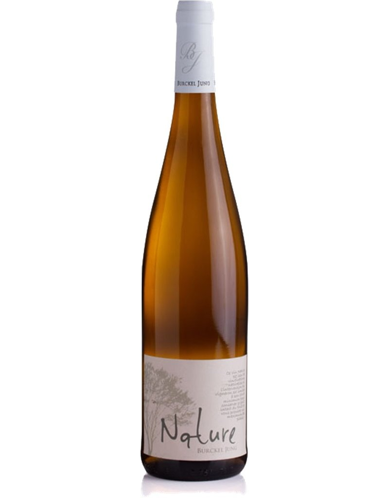 "French Wine Burckel Jung ""Nature"" Riesling Alsace 2015 750ml"