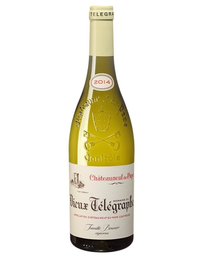 French Wine Domaine du Vieux Telegraph Chateauneauf -du-Pape Blanc 2016 750ml