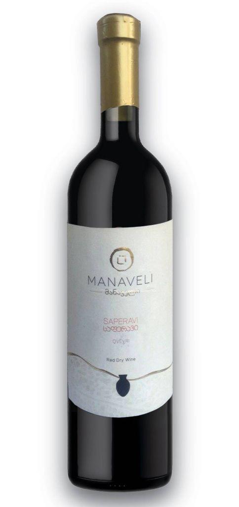 Eastern Euro Wine Manaveli Saperavi Dry Red Wine Georgia 2015 750ml