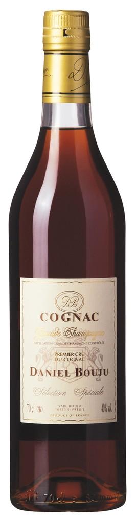 """Brandy Daniel Bouju Cognac """"Sélection Speciale"""" Premier Cru du Cognac 750ml"""