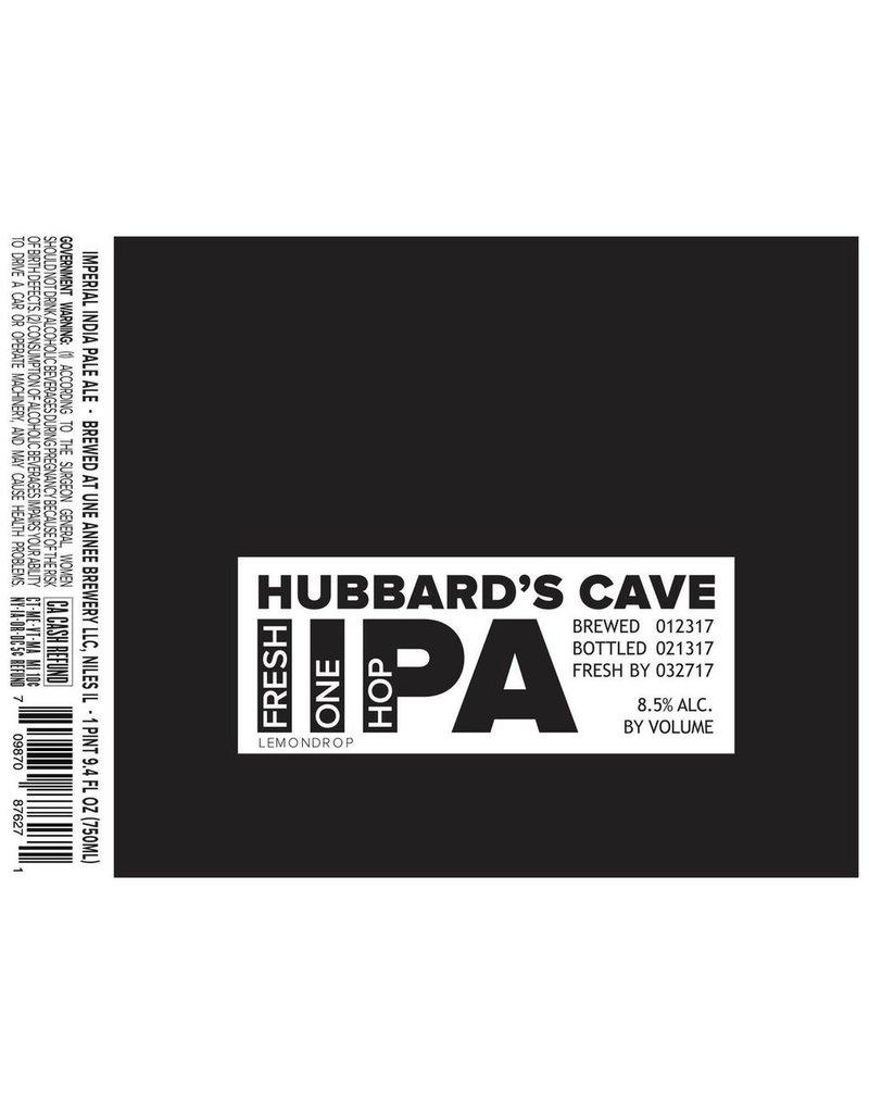 Beer Une Annee Hubbard's Cave IIPA 750ml