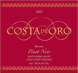 American Wine Costa de Oro Pinot Noir Santa Barbara County 2014 750ml