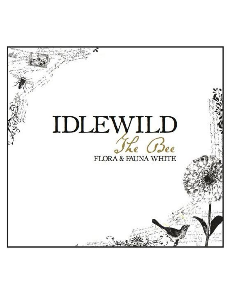 "American Wine Idlewild ""The Bee"" Flora and Fauna White Wine Mendocino 2016 750ml"