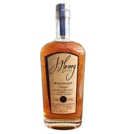 "Bourbon J. Henry & Sons ""Bellefontaine Reserve"" 5 Year Straight Bourbon Whisky Finished in Cognac Barrels 750ml"