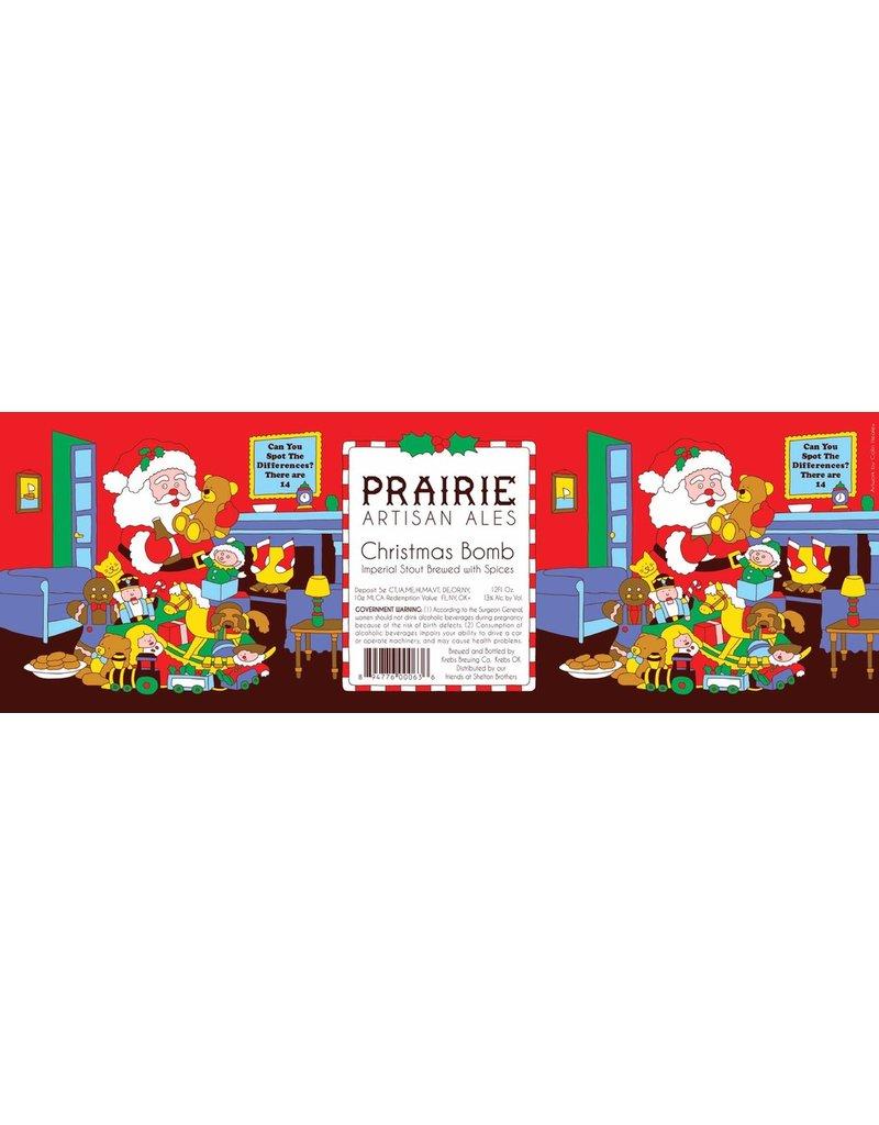 Beer Prairie Christmas Bomb 355ml