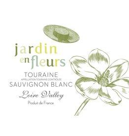 French Wine Jardin en Fleurs Touraine Sauvignon Blanc 2015 750ml