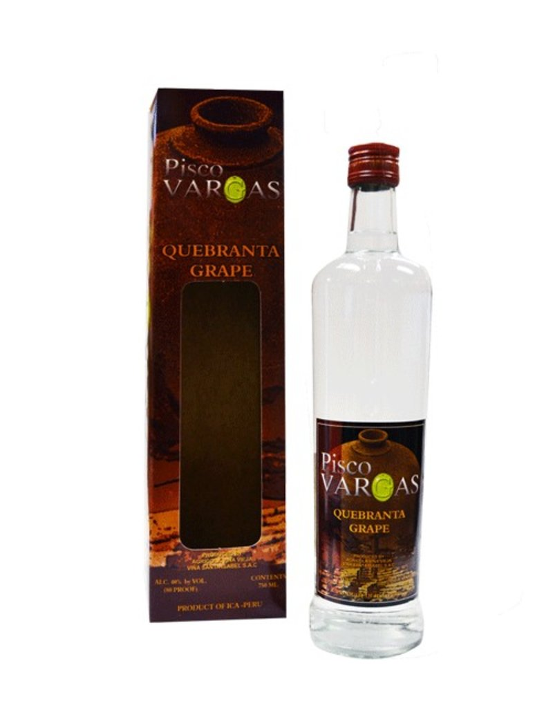 Brandy Pisco Vargas Quebranta 750ml
