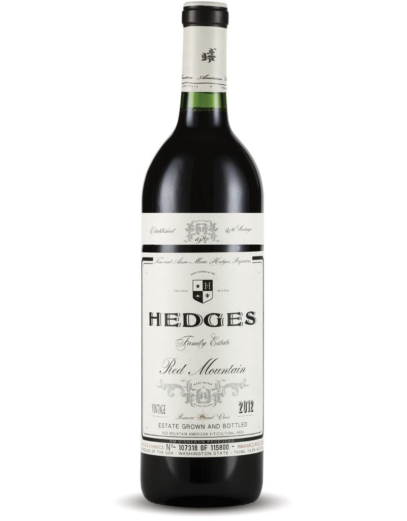 American Wine Hedges Red Mountain Red Wine Washington State 2013 750ml