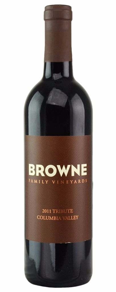 "American Wine Browne Family Vineyards ""Tribute"" Columbia Valley 2014 750ml"
