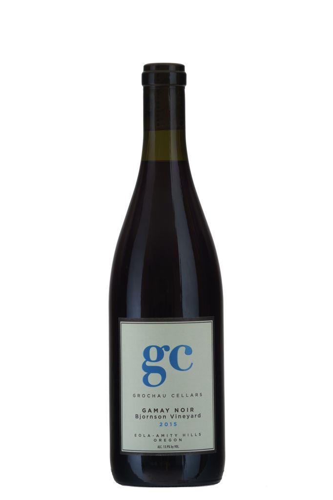 American Wine Grochau Gamay Noir Bjornson Vineyard Eola-Amity Hills Oregon 2015 750ml